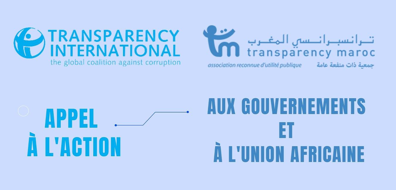 Appel à l'action à l'Union africaine à l'occasion de la 5ième Journée africaine de lutte contre la corruption